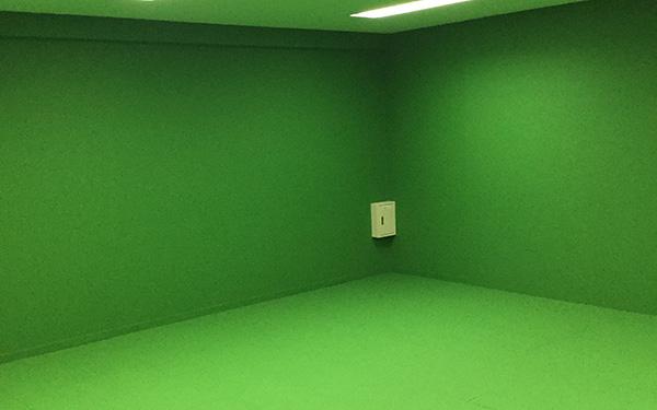 Chroma key studio
